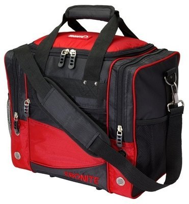 Ebonite Impact Single Red/Black 1 Ball Bowling Bag