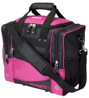 Ebonite Impact Single Pink/Black 1 Ball Bowling Bag