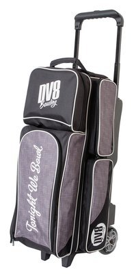 DV8 Circuit Black/Grey 3 Ball Roller Bowling Bag