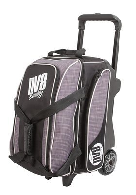 DV8 Circuit Black/Grey 2 Ball Roller Bowling Bag