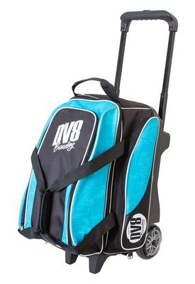 DV8 Circuit Black/Teal 2 Ball Roller Bowling Bag