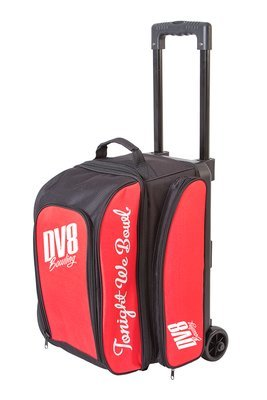 DV8 Freestyle Black/Red 2 Ball Roller Bowling Bag