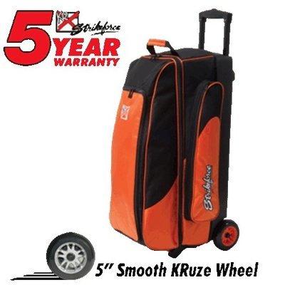 KR Cruiser Smooth Triple Roller Orange