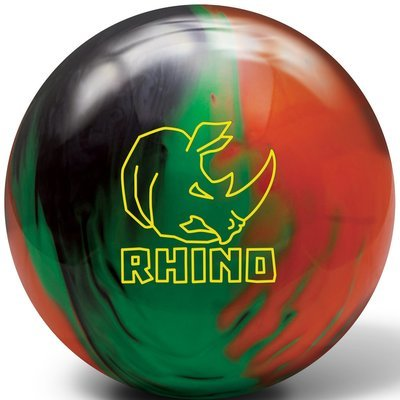 Brunswick Rhino Black/Green/Orange Bowling Ball