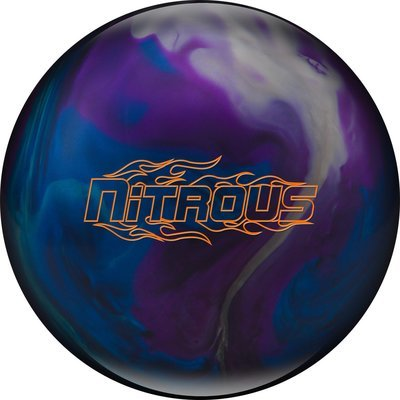 Columbia 300 Nitrous Black Cherry/Yellow/Blue Bowling Ball