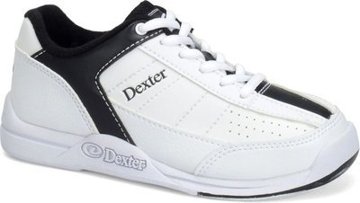Dexter Ricky IV White/Black Wide Width Mens Bowling Shoes