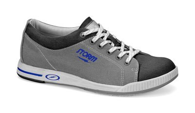 Storm Mens Gust Grey/Blue Bowling Shoes