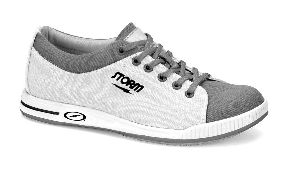 Storm Mens Gust White/Grey Bowling Shoes 10149