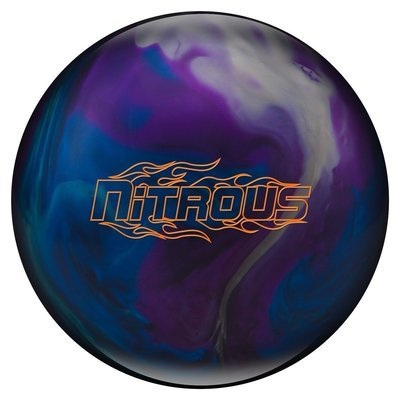 Columbia 300 Nitrous Purple/Blue/Silver Bowling Ball