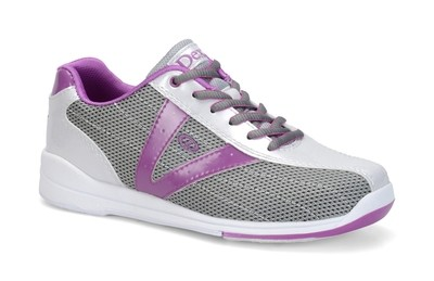 Dexter Womens Vicky Silver/Purple Bowling Shoes