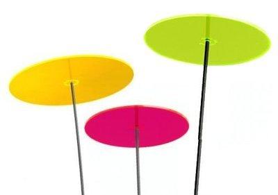 TRES 1 disco giallo, 1 disco rosso e 1 disco verde