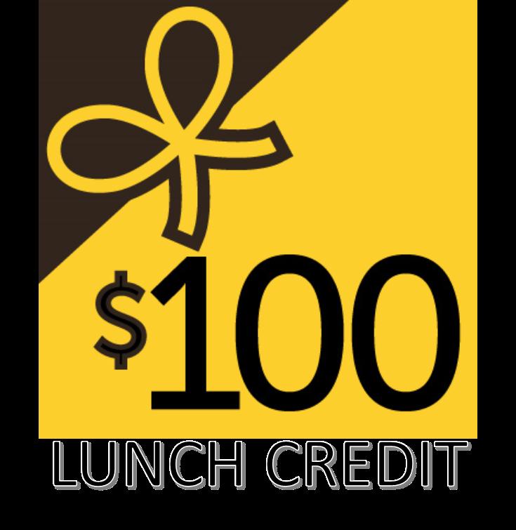 $100 Bulk lunch payment