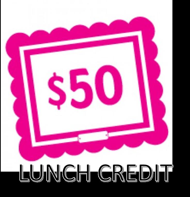 $50 Bulk lunch payment