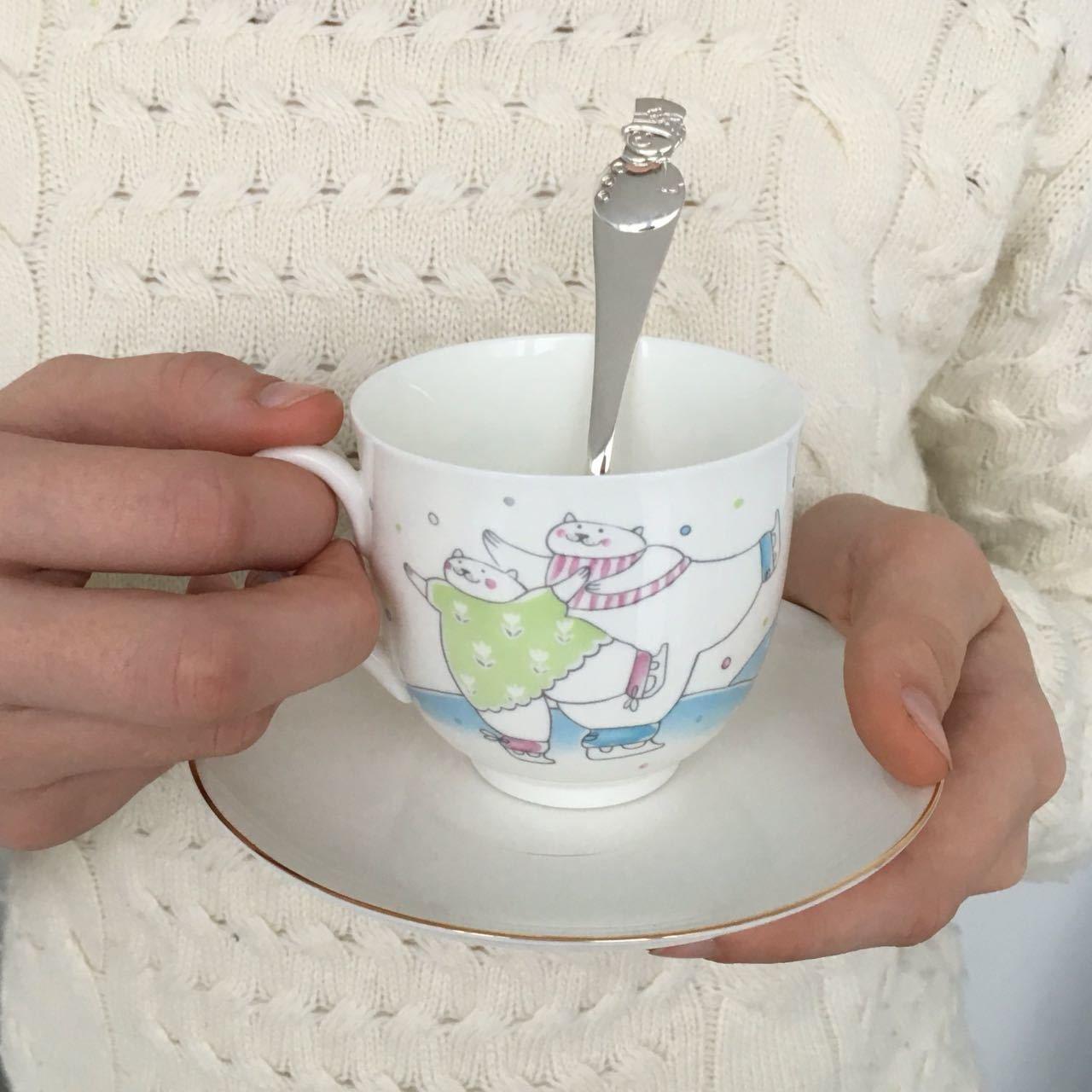 """Чайный набор """"Фигурное катание"""""""