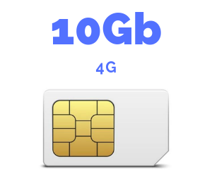 ONLY SIM 10 GB