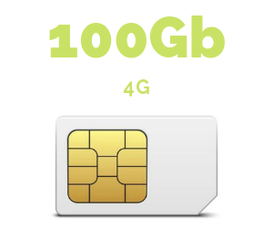 ONLY SIM 100 GB