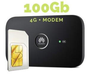 WIFI MODEM MIFI 100 GB