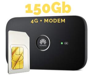 WIFI MODEM MIFI 150 GB