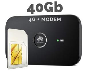 WIFI MODEM MIFI 40 GB