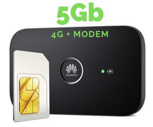 WIFI MODEM MIFI 5 GB