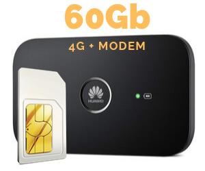 WIFI MODEM MIFI 60 GB