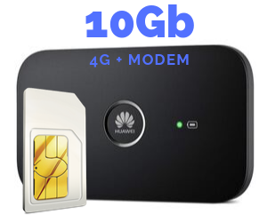 WIFI MODEM MIFI 10 GB