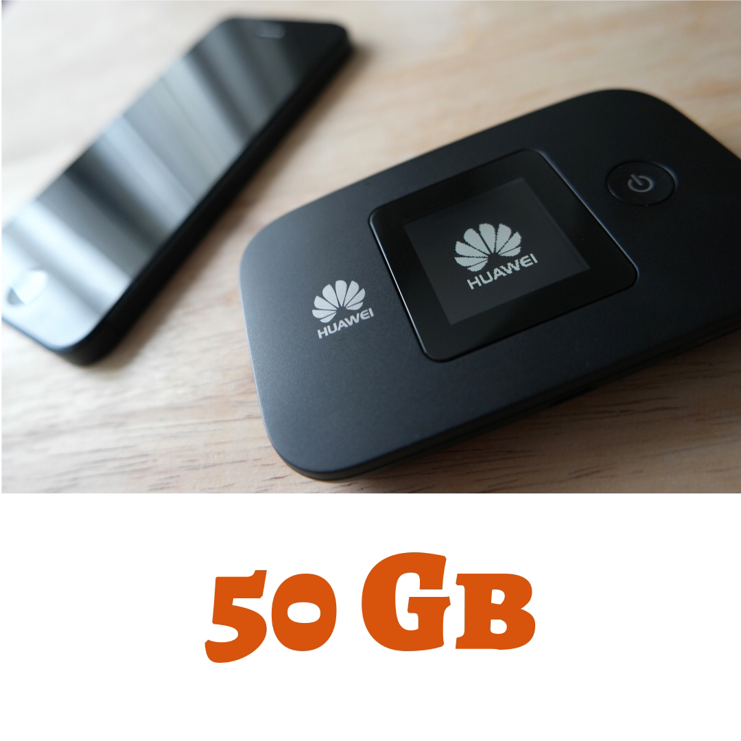 Wifi Go 3G/4G 50 GB Orange