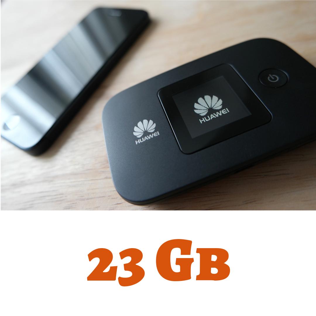 Wifi Go 3G/4G 23GB