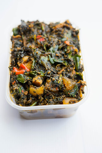 Efo Riro (Offered Vegetarian too )  - ( Select Small, Family Value or Pot Pack Size)