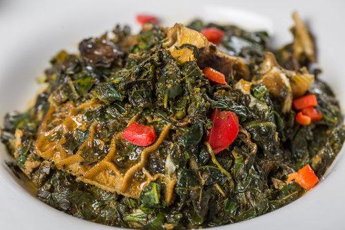 Edikang Ikong /EdikangIkong (Can be Vegetarian) (Select Small, Family Value or Pot Pack Size)