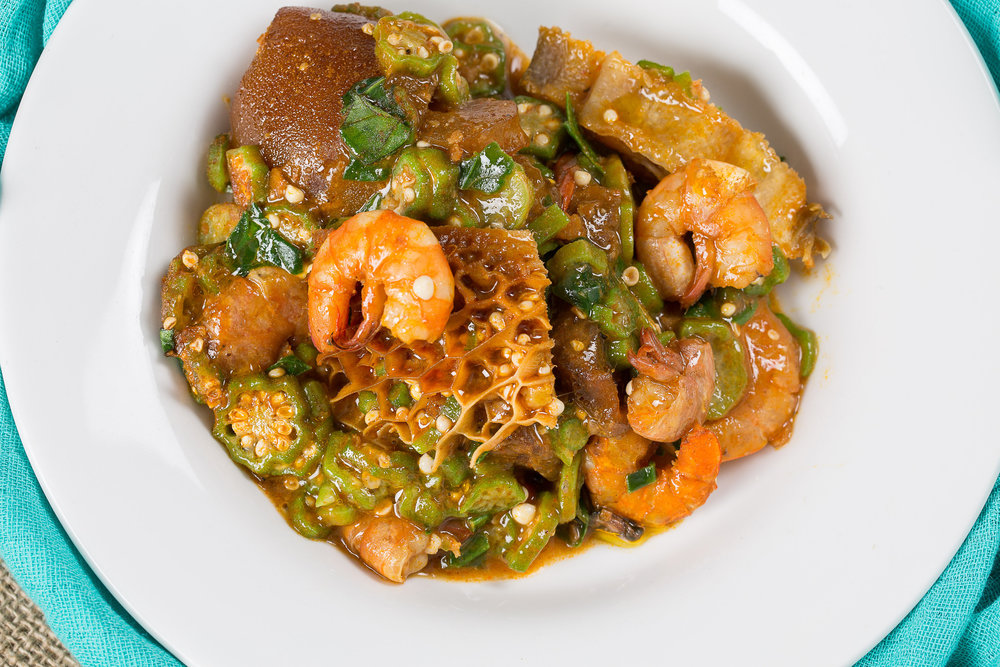 Sea Food Okra (Select Family Value or Pot Pack)