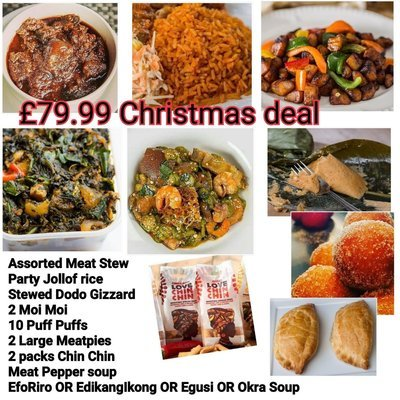 Cutie Xmas Pack- 9 items! Feeds 3-4 at just  £99.99! - These always cause a mad rush at Xmas! Quite a bargain!