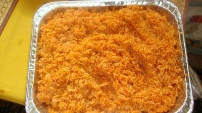 Jollof Rice (The National dish for all West Africans)