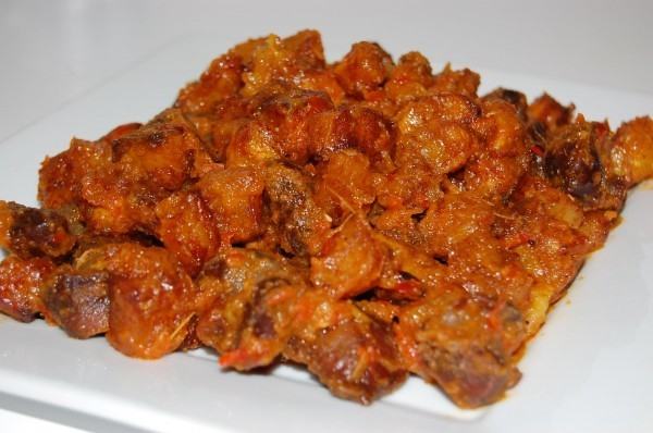 Gizzard and Bell Pepper Mix (Serves 5)