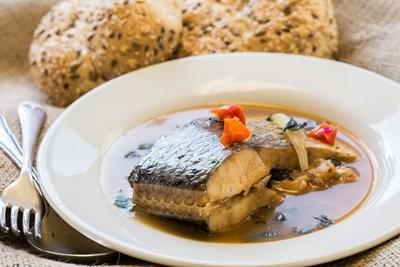 Fish Pepper Soup / Vegetarian Soup