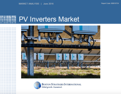 PV Inverters Market - Operations & Technology Section