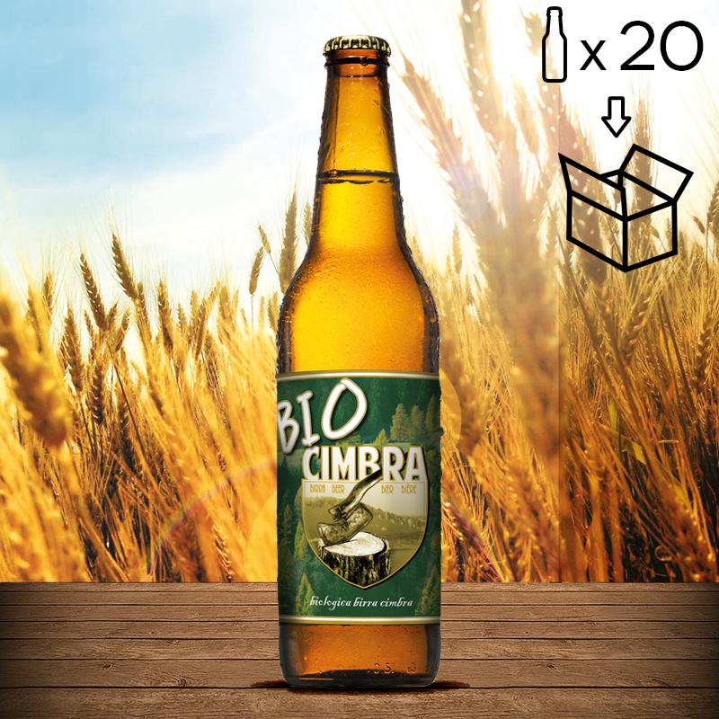 Cartone Biologica Birra Cimbra 20 bott. da 0,50 lt.