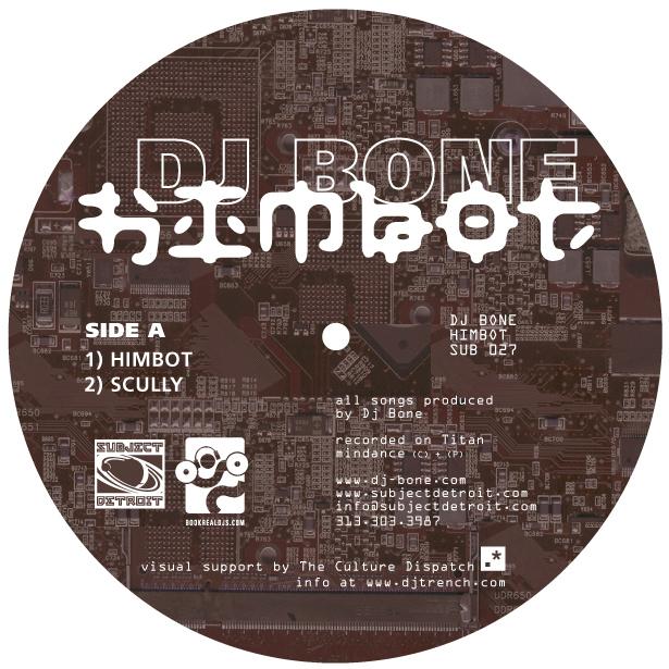 TP SUB027| HIMBOT EP|DJ BONE