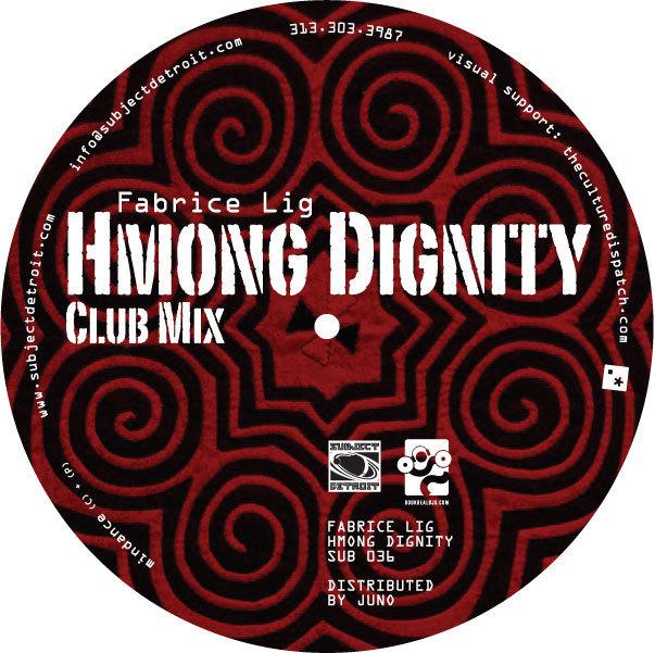 SUB036 | HMONG DIGNITY EP | FABRICE LIG
