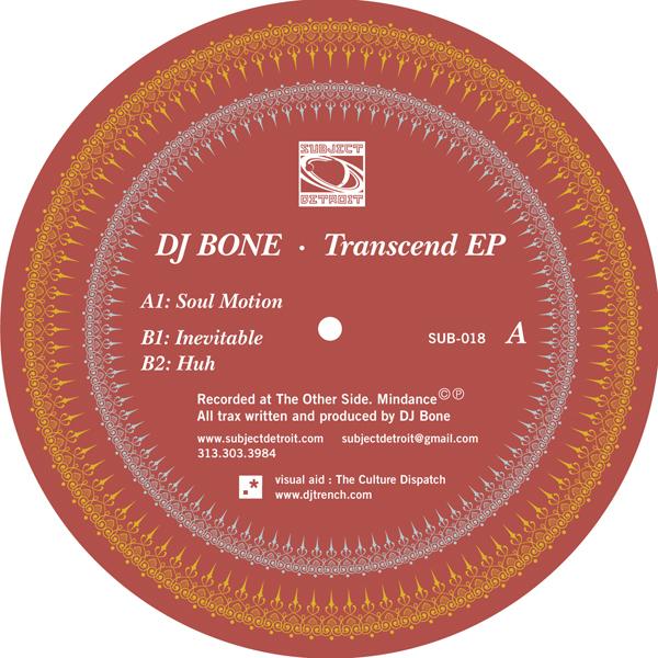 SUB018 | TRANSCEND EP | DJ BONE **WAV
