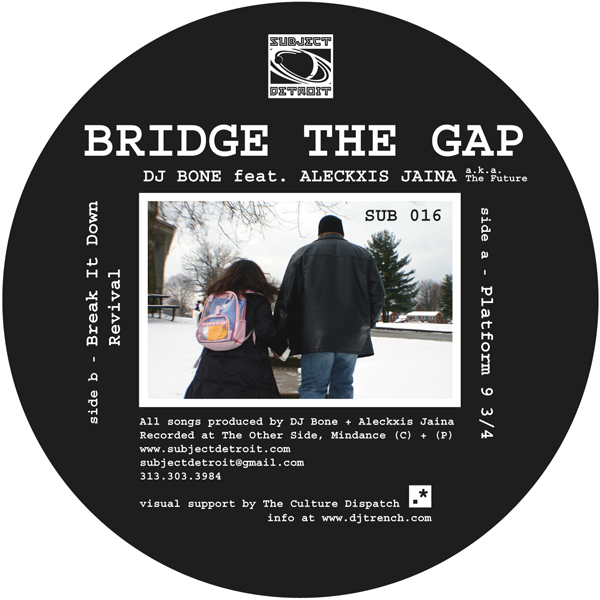 SUB016 | BRIDGE THE GAP | DJ BONE feat. ALECKXIS JAINA **WAV
