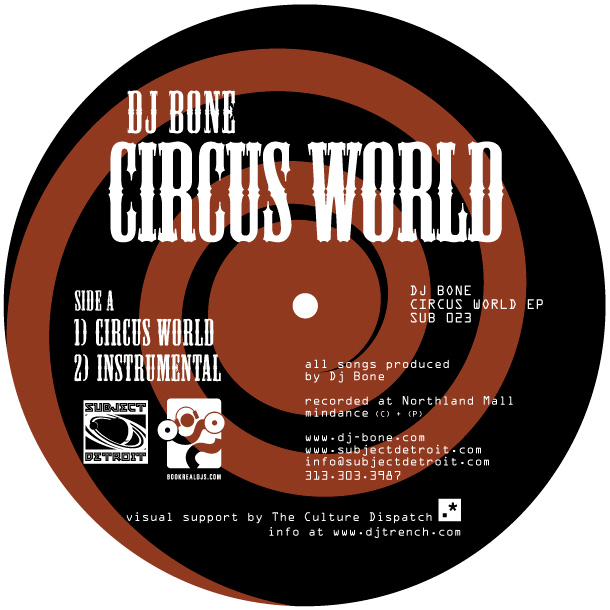 SUB023 | CIRCUS WORLD EP | DJ BONE **WAV