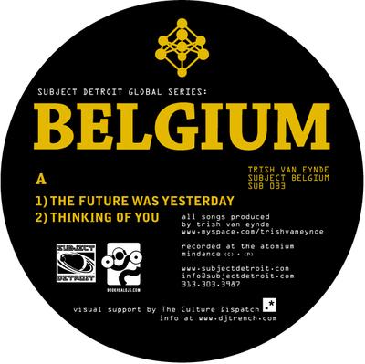 SUB033 | SUBJECT BELGIUM EP | TRISH VAN EYNDE **WAV
