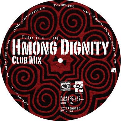 SUB036 | HMONG DIGNITY EP | FABRICE LIG **WAV