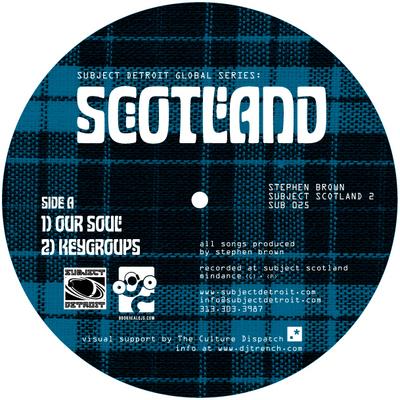 SUB025 | SUBJECT SCOTLAND EP2 | STEPHEN BROWN **WAV