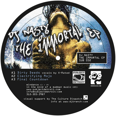 SUB032 | The IMMORTAL EP | DJ NASTY