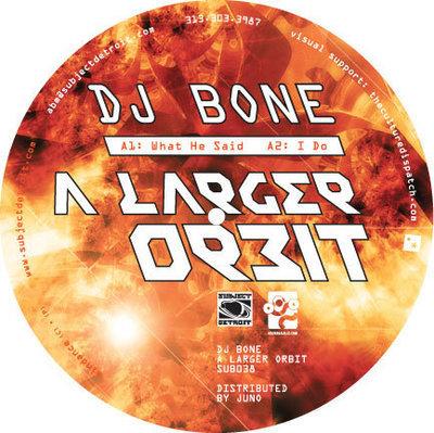 SUB038 | A LARGER ORBIT| DJ BONE **WAV