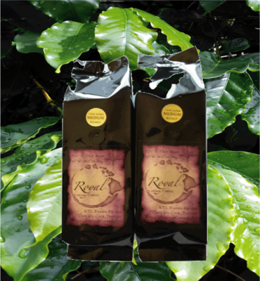 SALE!  Two 1 Lb. Bags-Royal Islander Coffee-Medium Roast