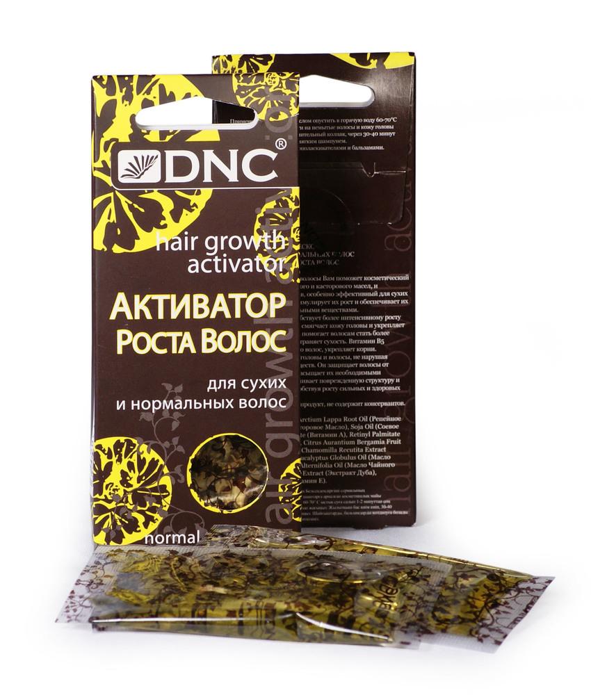 Активатор роста для сухих и норм. волос, DNC, набор из 2 шт 3х15мл.