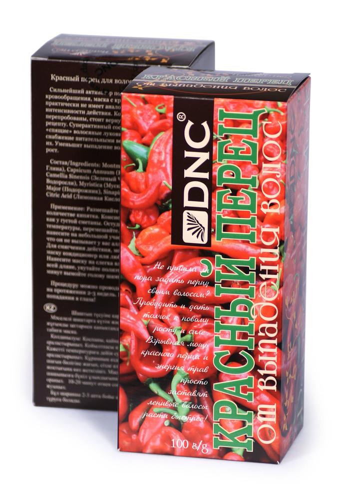 Маска Красный перец для волос от выпадения, набор из 2 шт, 2*100гр